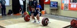 Hysen Pulaku (77kg) 191 kg Clean & Jerk Record