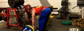 Cambered Barbell Bent Over Rows