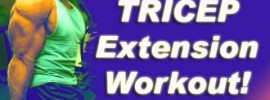 Preacher Curl Bench Triceps Extensions