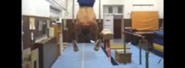 Reverse Muscle Ups to L Sit Iron Cross