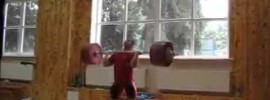 Artyom Ivanov 235kg Clean and Jerk
