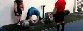 Vytautas Lalas 400kg Deadlift