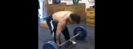 Snatch without Hook Grip and Foot Movement