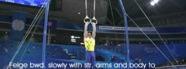 Men's Gymnastics Still Rings Elements