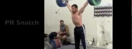 Jon North 166kg Snatch American Record