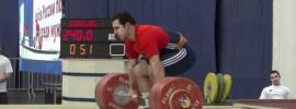 David Bedzhanyan 240kg Clean & Jerk