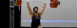 Spencer Moorman Junior American Record 204kg