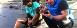 Compression Band Ankle Dorsiflexion Mobility WOD
