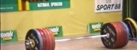 Leonid Taranenko 266kg Clean and Jerk
