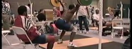 1996 Atlanta Weightlifting Training Hall