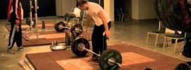 2011 Worlds Weightlifting Training Hall Video