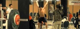 77kg Lifters Training Hall – 2011 World Weightlifting Championships