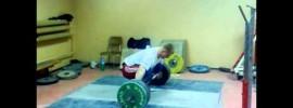 Daniel Dolega Snatches 190kg