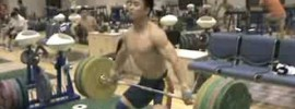 140kg Hang Snatch Double – Yang Fan