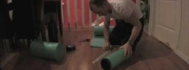 DIY PVC Pipe Foam Roller Video