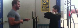 Triceps Mobility for Front Rack Position Mobility WOD