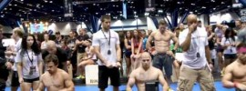 CrossFit UFC Expo Men's Workouts
