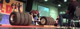 "Zydrunas ""Big Z"" Savickas 1117lbs Tire Deadlift"