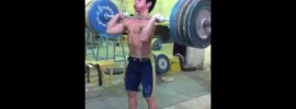 140 kg Clean & Jerk by Chinese Kid