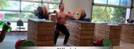 Donny Shankle 215kg Box Clean & Jerk