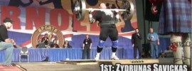 Arnold Strongman Classic 2012 – Apollon's Wheels