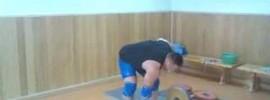Mikhail Koklyaev 110kg One Arm Snatch