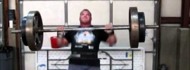 Derek Poundstone 2012 Arnold Classic Training