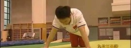 Chen Yibing can't do Triple Clap Push-Ups