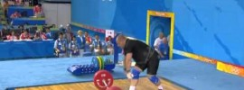 2008 Beijing Olympics Weightlifting +105 kg Highlights