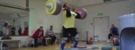 Dmitry Klokov Barbell Complex & 245kg Jerk