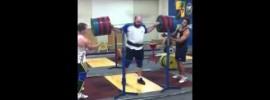 310kg Squat Damon Kelly