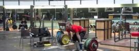 Miika Antti-Roiko 210kg Clean from Blocks