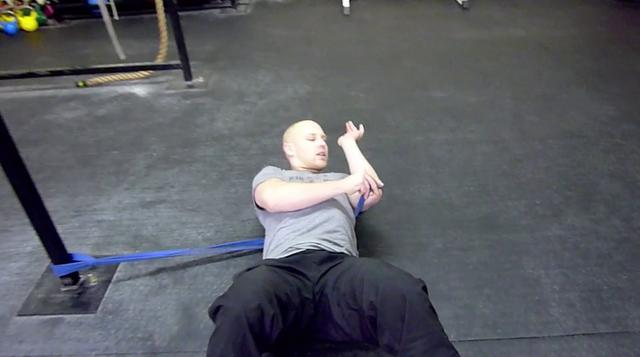 Band Distracted Shoulder Capsule Mobility Drill All