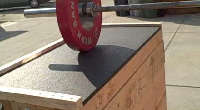 Diy jerk box construction resources all things gym