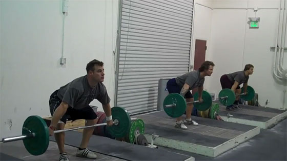 Below the Knee Position Snatch Drill Jon North