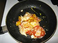 Breakfast Scrambled Eggs Tomato