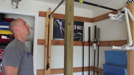 Build your own pull up bar in garage best image of garage