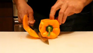 how to quickly peppers