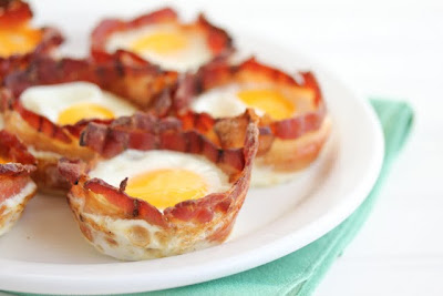 Bacon Egg Breakfast Cups