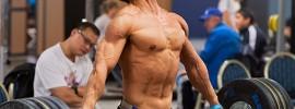 Lu Xiaojun Ripped Training Hall Snatch High Pull
