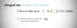 Sleepy-Time-Sleep-Time-Calculator