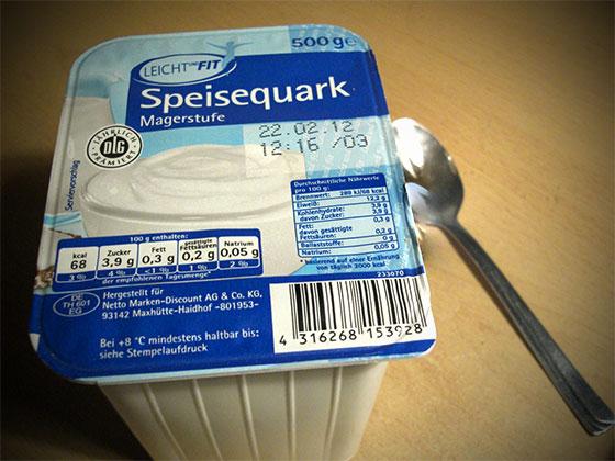 Speisequark Quark Protein Snack