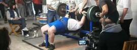 Mick King 235 kg Bench Press at 62 Years