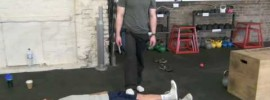 Kettlebell Quad Massage Mobility WOD
