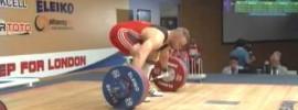 2012 European Weightlifting Championships Men's 105kg.