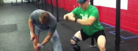 Knee Compression Band Work Mobility WOD