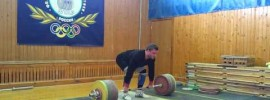 Dmitry Klokov 232.5 kg Clean & Jerk