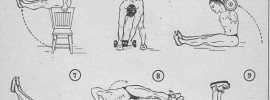 Old Time Ab Exercises