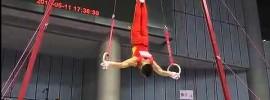 Chen Yibing Rings 2012 Chinese Gymnastics Nationals