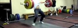 Hysen Pulaku 160kg Snatch 3 times and 200kg Clean & Jerk